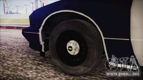 Chevrolet Caprice Station Wagon 1993-1996 LSPD para GTA San Andreas vista posterior izquierda