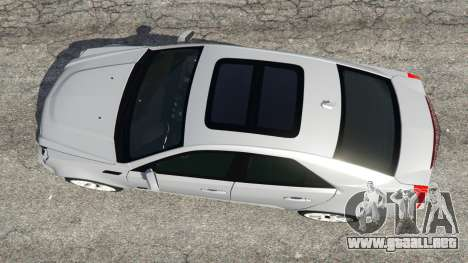 GTA 5 Cadillac CTS-V 2009 vista trasera