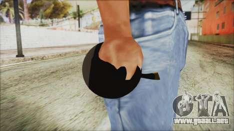 Angry Bird Grenade para GTA San Andreas tercera pantalla