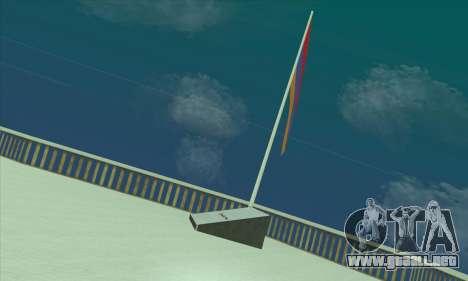 Armenia bandera en el monte Chiliad para GTA San Andreas segunda pantalla