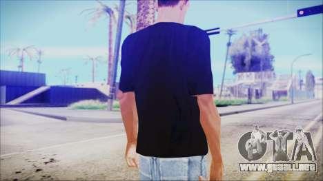 T-Shirt Christmas Tree para GTA San Andreas segunda pantalla