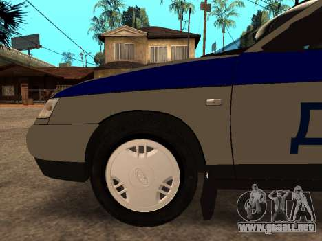 VAZ 2110 DPS para la vista superior GTA San Andreas