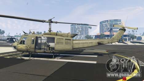 GTA 5 Bell UH-1D Iroquois Huey segunda captura de pantalla