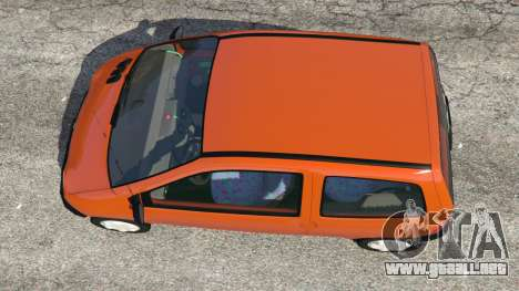 GTA 5 Renault Twingo I vista trasera