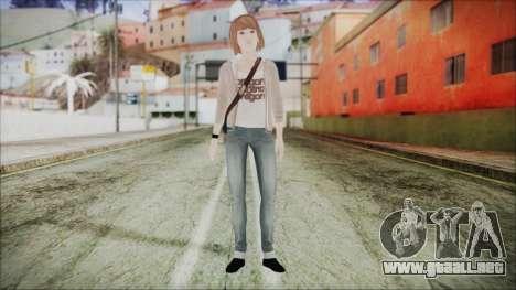 Life is Strange Episode 5-4 Max para GTA San Andreas segunda pantalla
