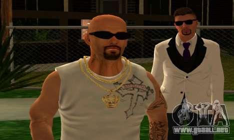 Mens Mega Pack para GTA San Andreas décimo de pantalla