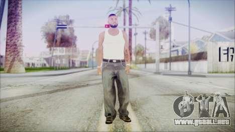 GTA 5 Grove Gang Member 3 para GTA San Andreas segunda pantalla
