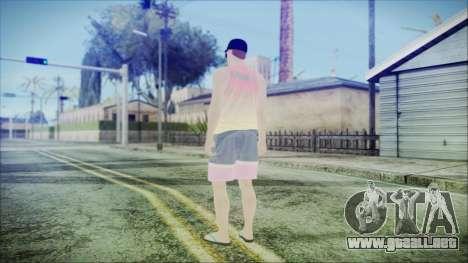 GTA Online Skin 31 para GTA San Andreas tercera pantalla