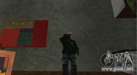 Italian bar Gangstaro in Los Santos para GTA San Andreas sucesivamente de pantalla