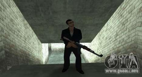 Italian bar Gangstaro in Los Santos para GTA San Andreas quinta pantalla