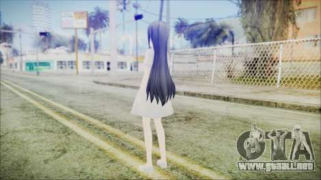 Yui Sword Art Online para GTA San Andreas tercera pantalla