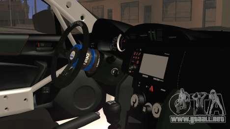 Toyota GT86 Speedhunters para la visión correcta GTA San Andreas