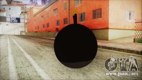 Angry Bird Grenade para GTA San Andreas segunda pantalla