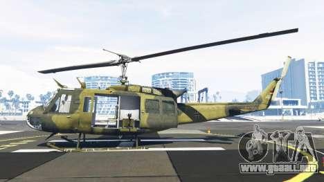GTA 5 Bell UH-1D Huey Bundeswehr segunda captura de pantalla