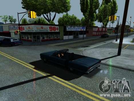ENB Simple HD v1 para GTA San Andreas tercera pantalla
