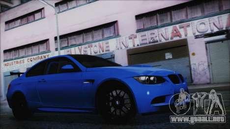 BMW M3 GTS 2011 HQLM para GTA San Andreas