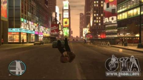 Ragdoll Mod para GTA 4 segundos de pantalla