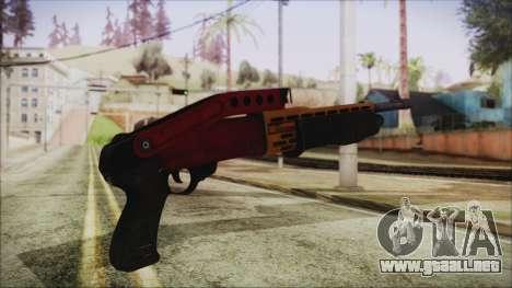 Xmas SPAS-12 para GTA San Andreas segunda pantalla