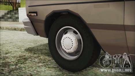 Dodge Dart 1975 para GTA San Andreas vista posterior izquierda
