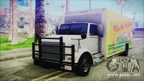 Indonesian Benson Truck Not In Real Life Version para GTA San Andreas
