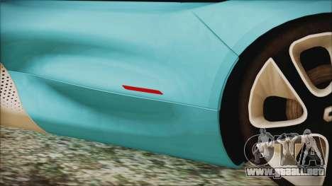 Renault Dezir Concept 2010 v1.0 para vista lateral GTA San Andreas