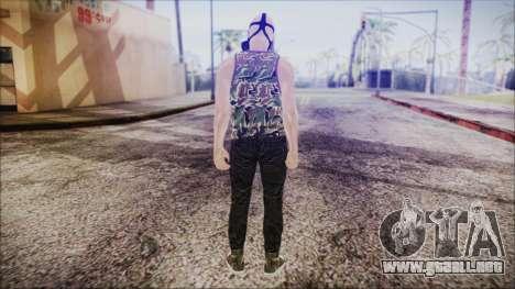 GTA Online Skin 6 para GTA San Andreas tercera pantalla
