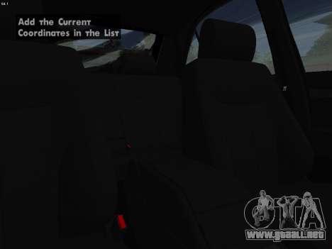 Mercedes-Benz E420 para vista lateral GTA San Andreas