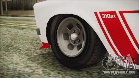 GTA 5 Declasse Tampa para GTA San Andreas vista posterior izquierda