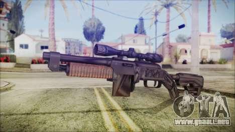 Fallout 4 Overseers Guardian para GTA San Andreas