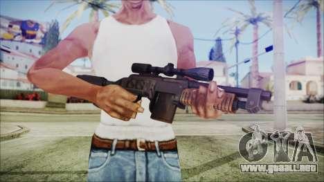 Fallout 4 Overseers Guardian para GTA San Andreas tercera pantalla
