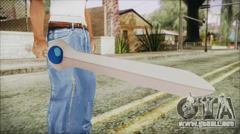Finn Sword from Adventure Time para GTA San Andreas