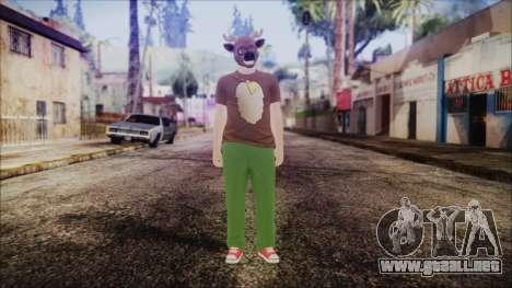 GTA Online Skin 11 para GTA San Andreas segunda pantalla