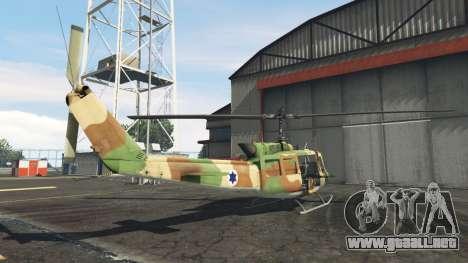 GTA 5 Bell UH-1D Israeli Air Force tercera captura de pantalla