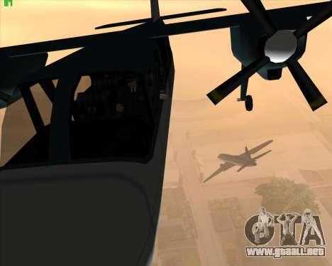 La locura en el estado de San Andreas v1.0 para GTA San Andreas segunda pantalla