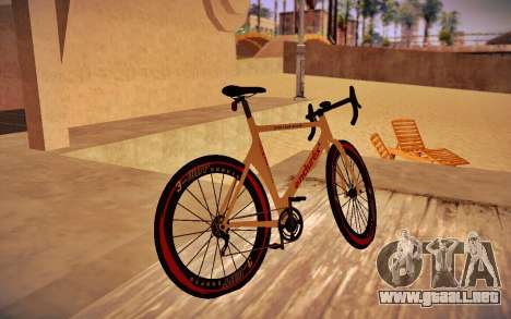 GTA V Endurex Race Bike para GTA San Andreas left