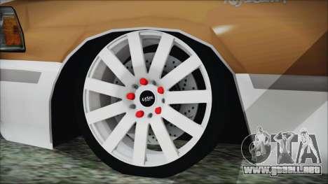 Toyota Crown VIP para GTA San Andreas vista posterior izquierda