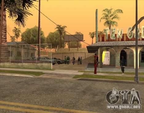 Bratki en el bar para GTA San Andreas sucesivamente de pantalla