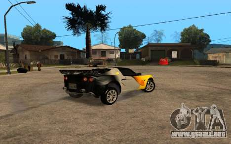 Lotus Elise 111s Tunable para GTA San Andreas left