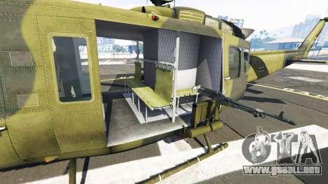 GTA 5 Bell UH-1D Huey Bundeswehr sexta captura de pantalla