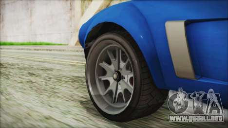 GTA 5 Declasse Mamba para GTA San Andreas vista posterior izquierda
