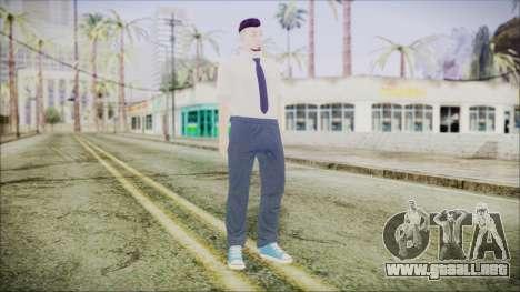 GTA Online Skin 38 para GTA San Andreas segunda pantalla