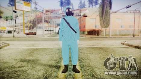 GTA 5 Online The Heist Gasmask Dark para GTA San Andreas segunda pantalla