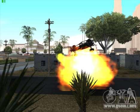 La locura en el estado de San Andreas v1.0 para GTA San Andreas décimo de pantalla