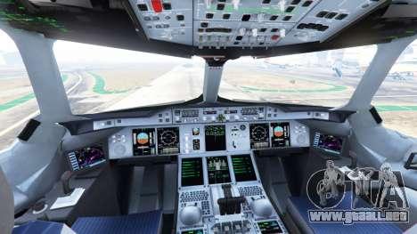 GTA 5 Airbus A380-800 quinta captura de pantalla
