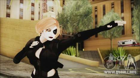 Blonde Domino from Deadpool para GTA San Andreas