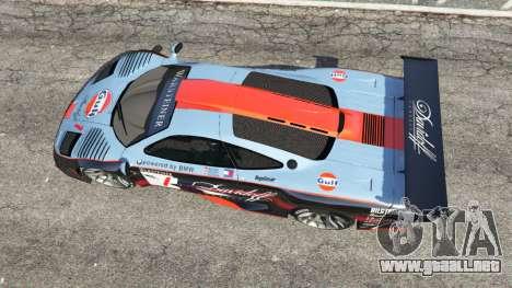 GTA 5 McLaren F1 GTR Longtail [Gulf] vista trasera