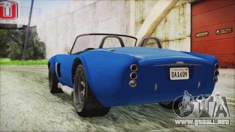 GTA 5 Declasse Mamba para GTA San Andreas left