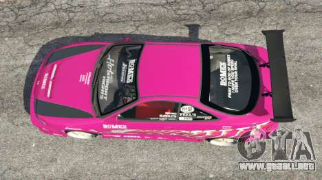 GTA 5 Honda Integra DC2 vista trasera