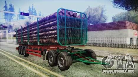 Iveco EuroTech Forest Trailer para GTA San Andreas