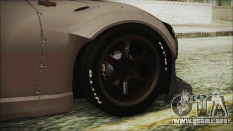 Toyota GT86 Rocket Bunny Tunable HQLM para GTA San Andreas vista posterior izquierda